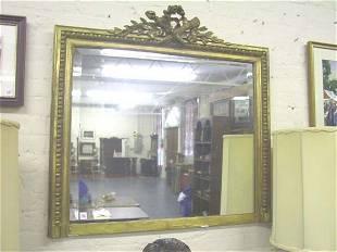 Rectangular Beveled Mirror c.1910