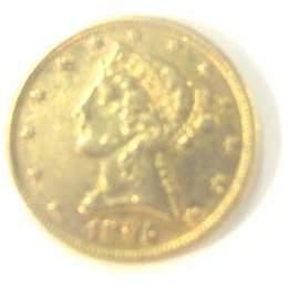1895 $5 Gold Piece