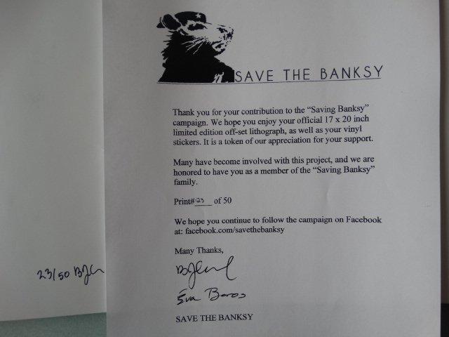 BANKSY + COA - 2