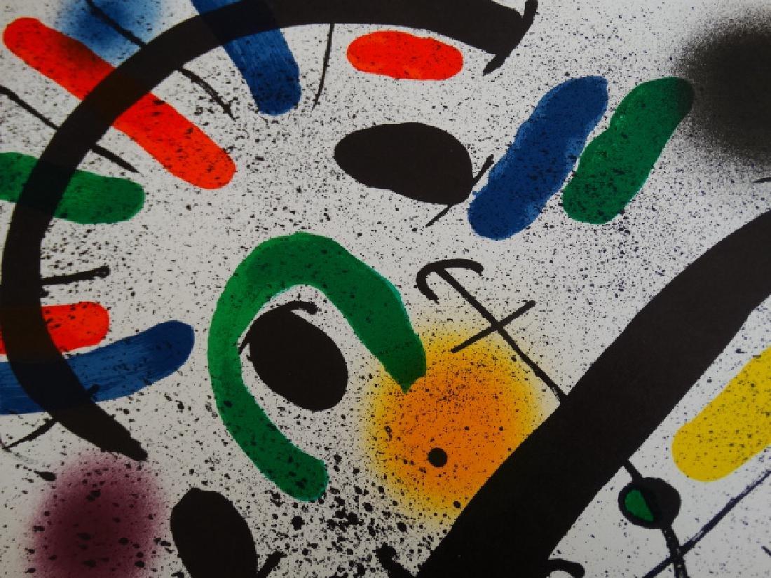 Joan Miro, lithograph