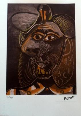 Pablo Picasso, Spadem