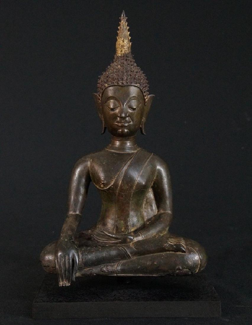 Buddha bronze, 15-16th century