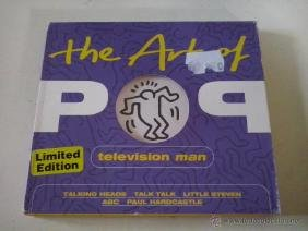The Art Of Pop Television Man .2001 Emi. Keith Haring