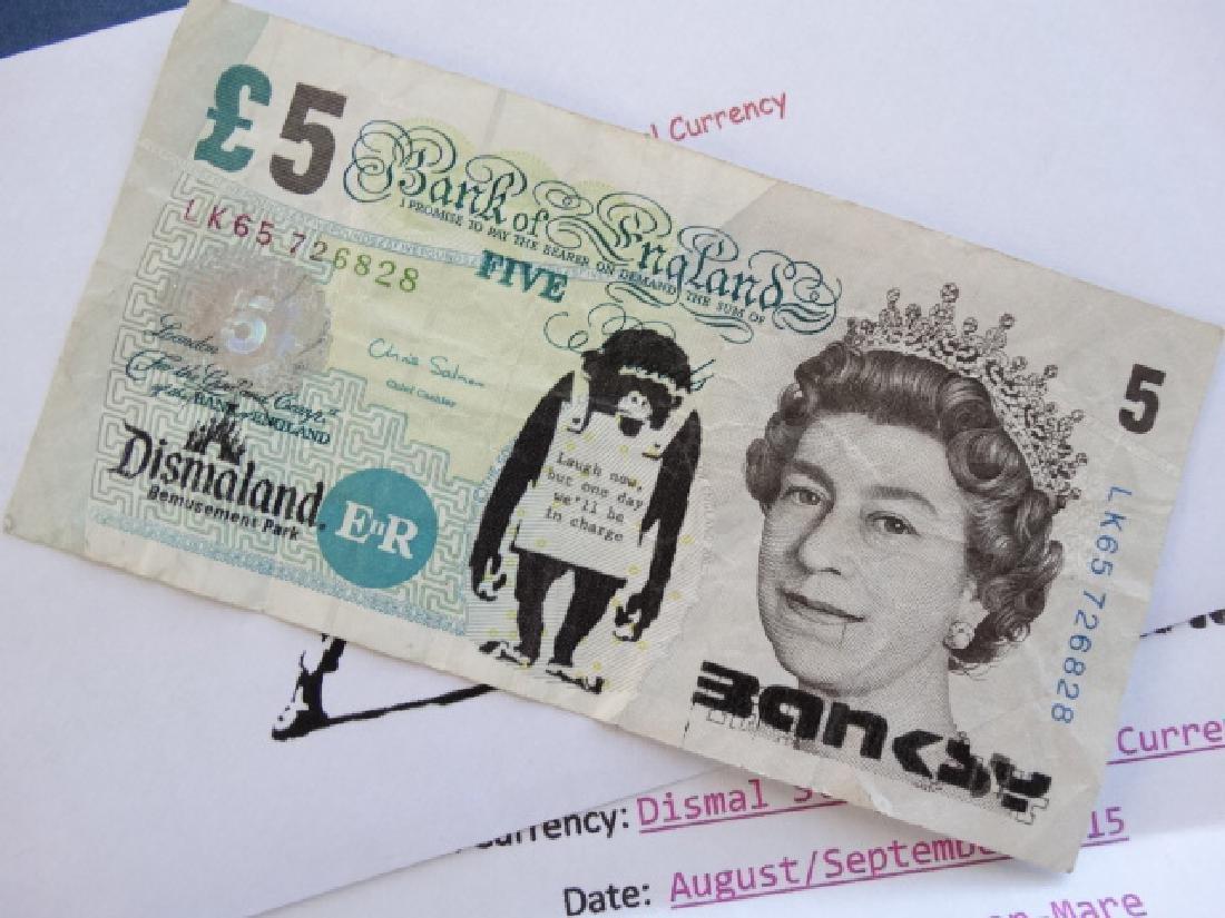 Bansky note - 3
