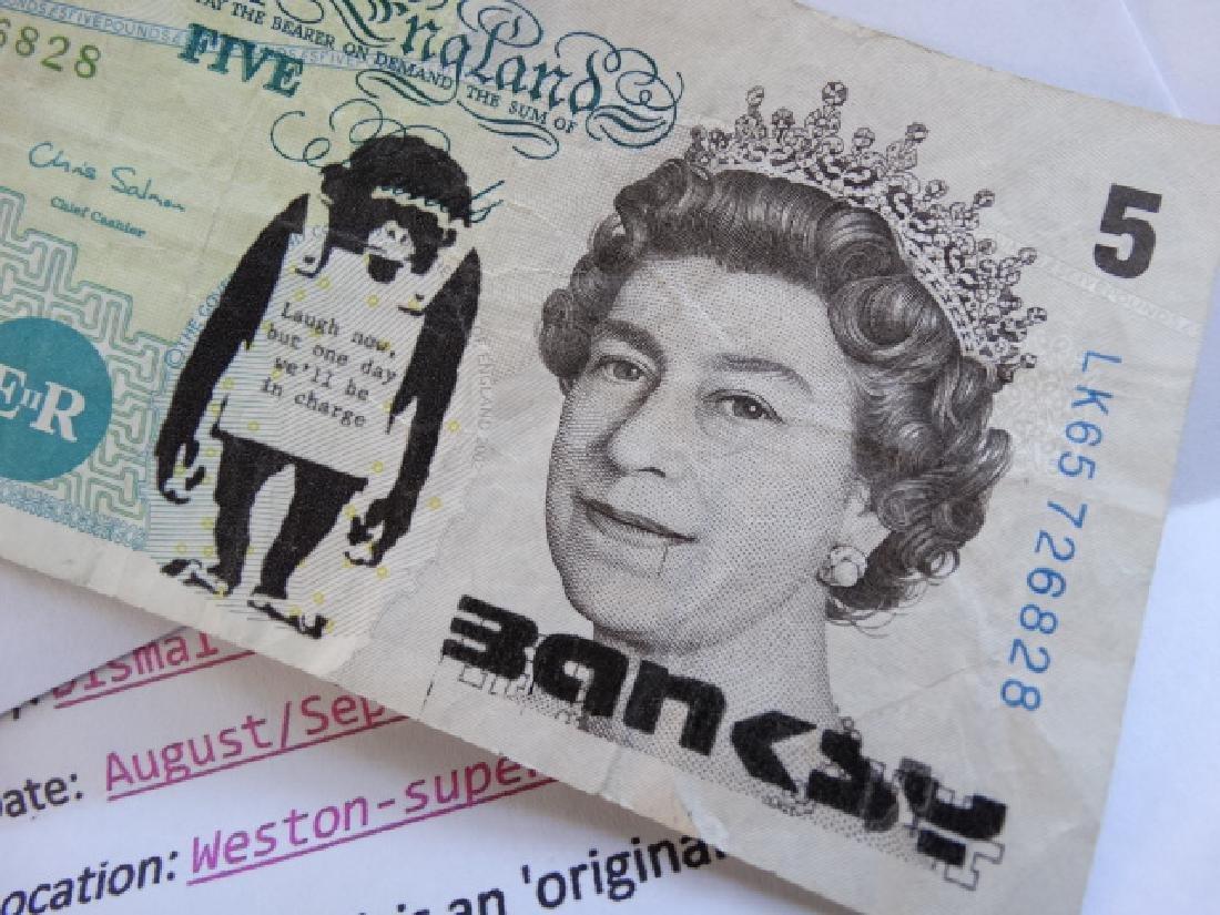Bansky note - 5