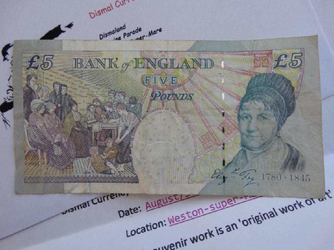 Bansky note - 6