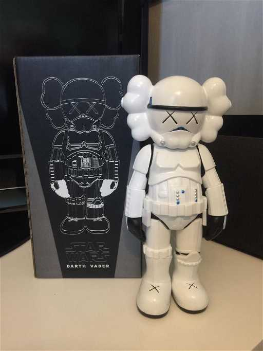 Kaws Star Wars Companion Figure With Box - Business invoice templates free kaws online store