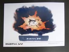 Bristol Photography x Banksy Explosion numbered