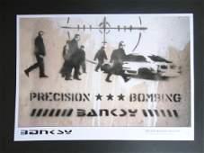 Bristol Photography x Banksy -Precision Bombing-