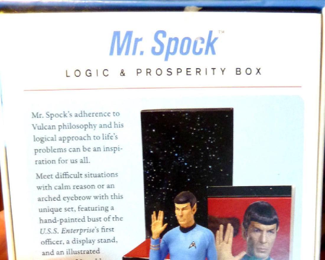 Star Trek: Mr Spock Figurine Logic and Prosperity Box - - 3
