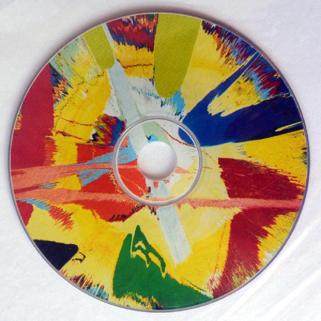 Damien HIrst Ltd ed Spin Painting CD RARE. COA
