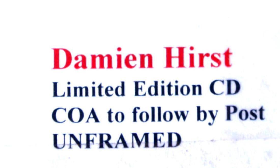 Damien HIrst Ltd ed Spin Painting CD RARE. COA - 4