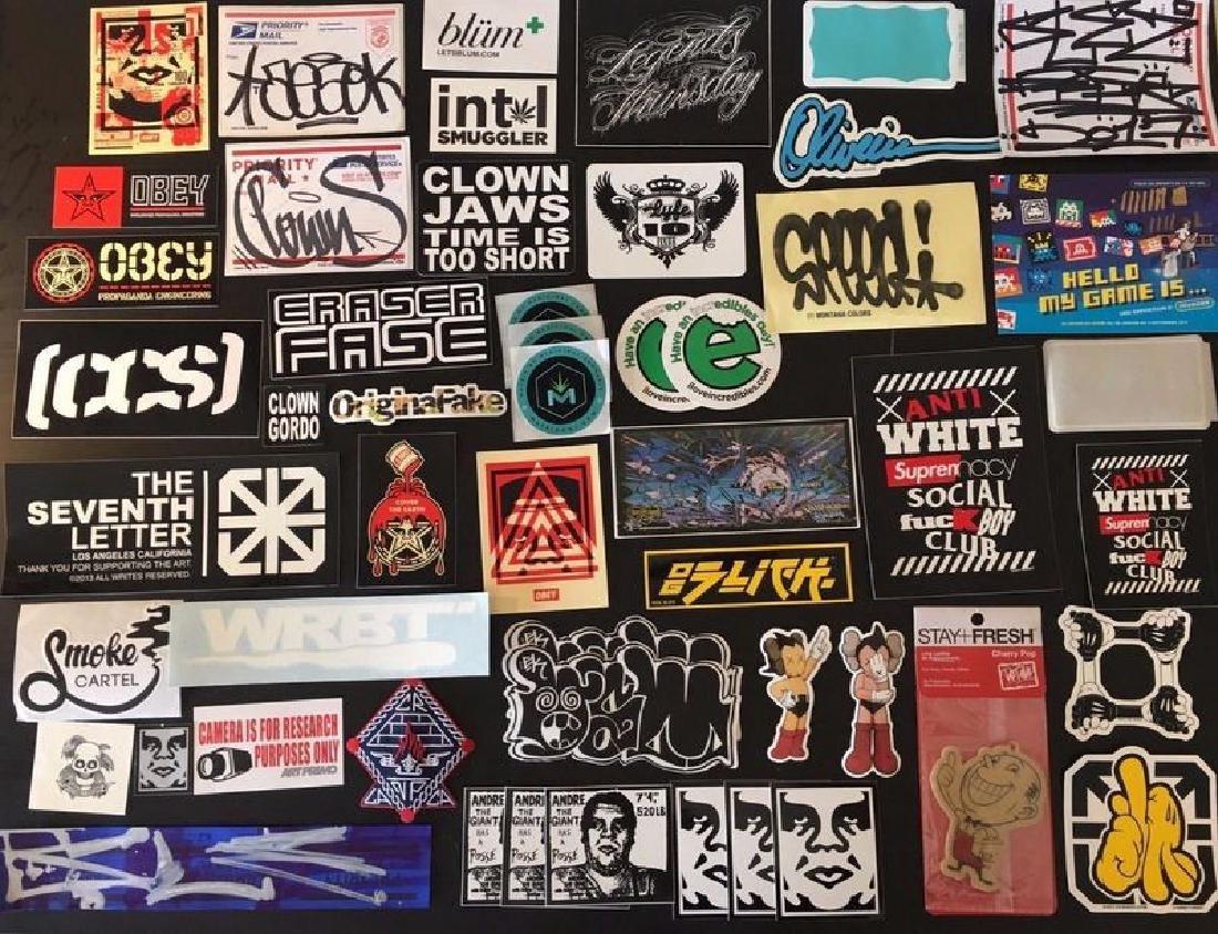 Graffiti Street Art Sticker/Swag Lot - Invader OBEY OG