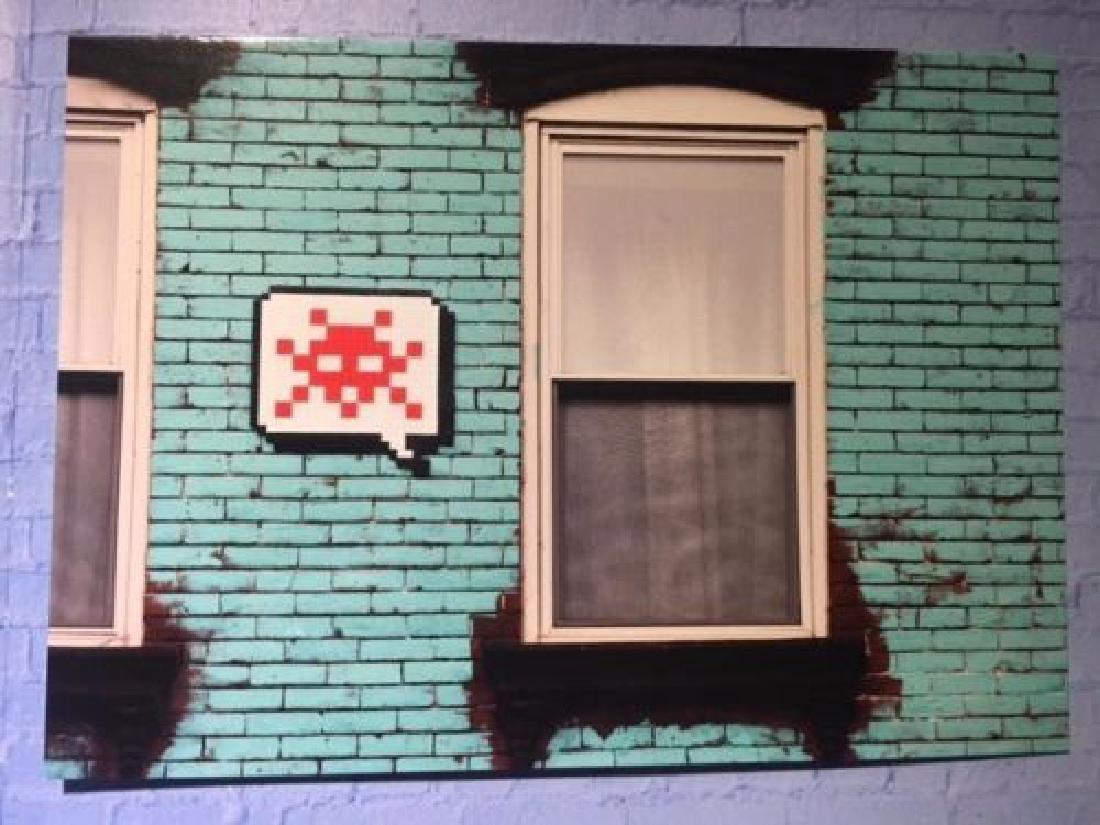 Space Invader - Post Card - Street Art - Urban Art