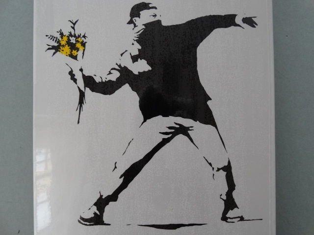 Banksy- Flower Thrower