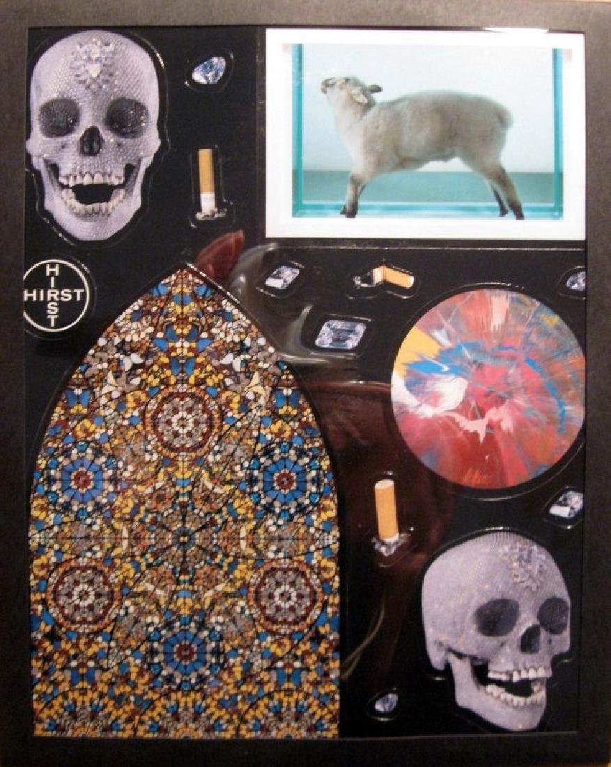 DAMIEN HIRST FRIDGE MAGNET SET FROM TATE RETROSPECTIVE