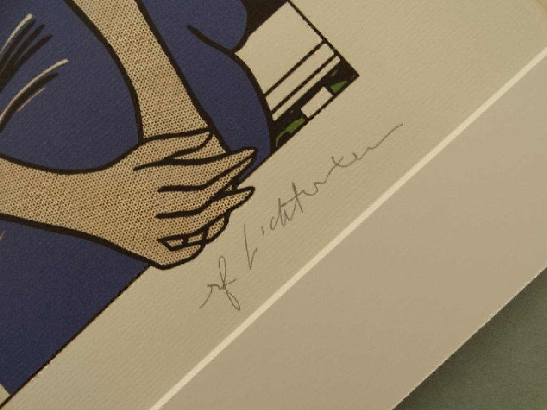 ROY LICHTENSTEIN, SIGNED IN PRINT - 3