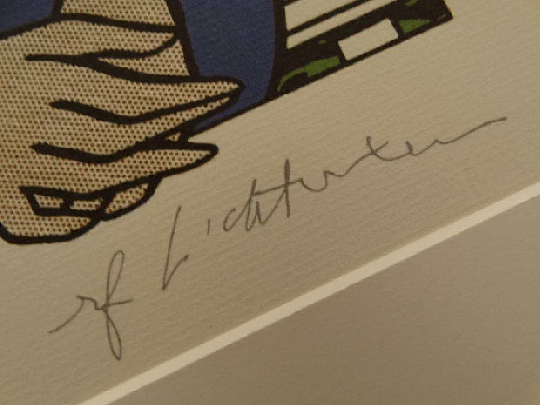 ROY LICHTENSTEIN, SIGNED IN PRINT - 4
