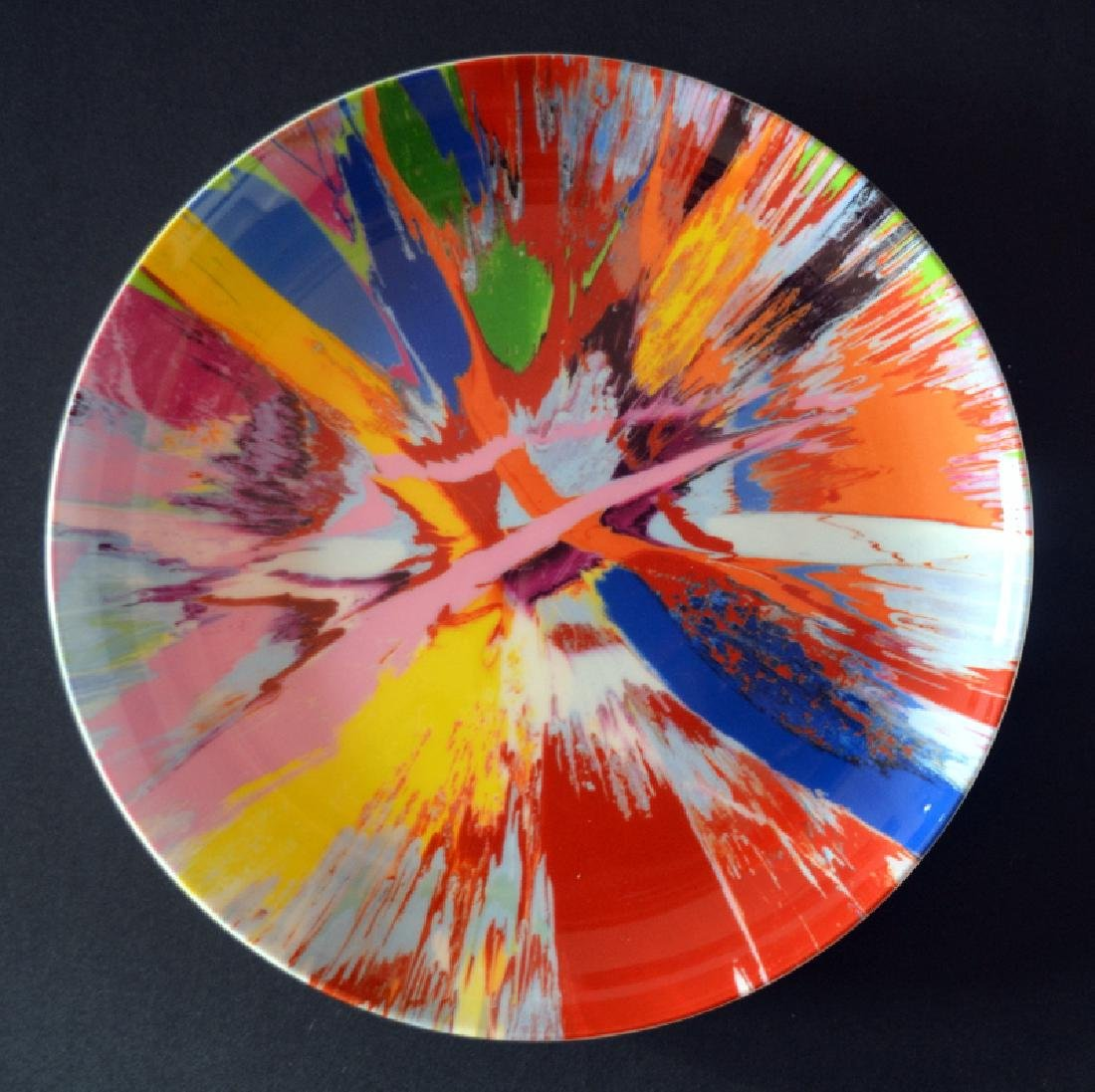 Damien Hirst 2012 Bone China Plate Beautiful ,Limited