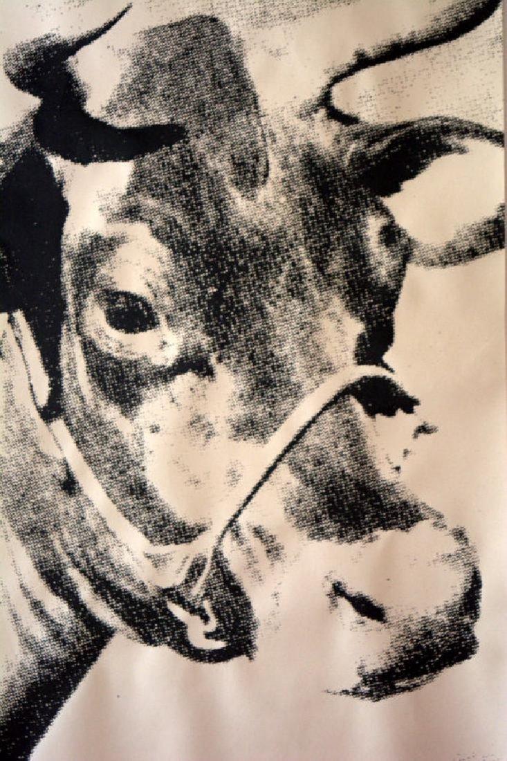 Andy Warhol Cow, screenprint, 1976 Biennale