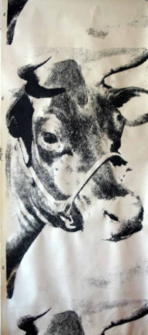 Andy Warhol Cow, screenprint, 1976 Biennale - 2