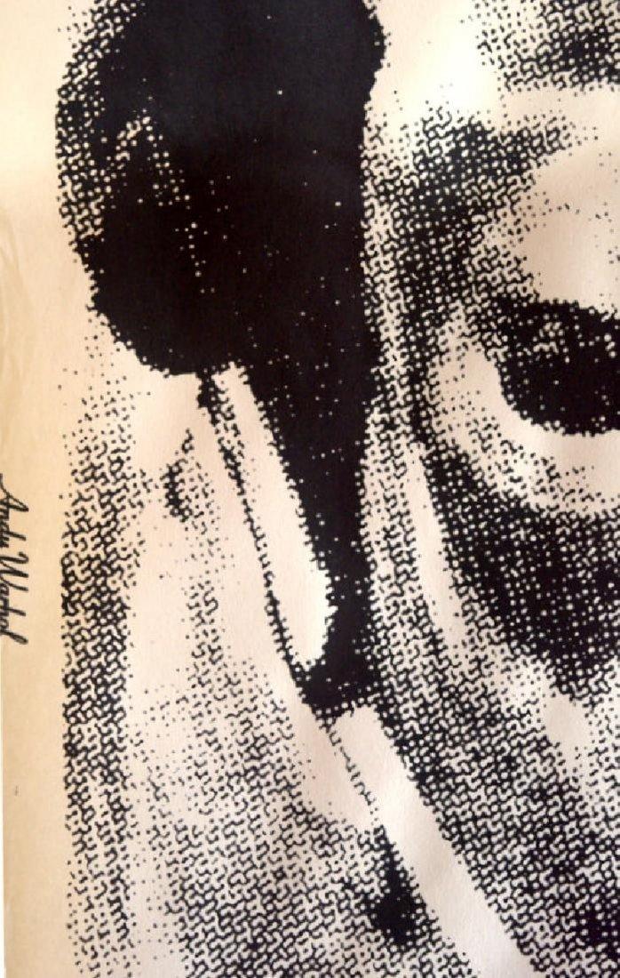 Andy Warhol Cow, screenprint, 1976 Biennale - 3