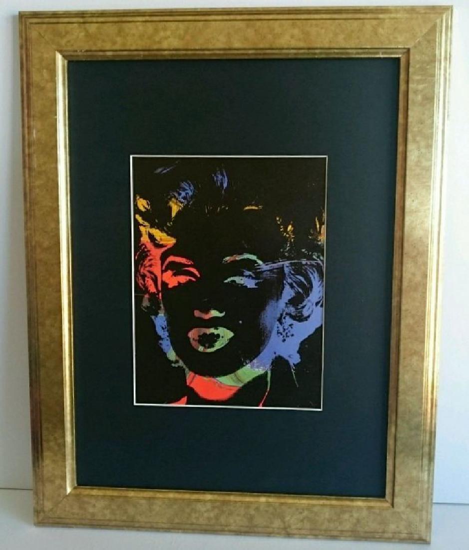 Andy Warhol - ORIGINAL VINTAGE ART - 1989 Negative