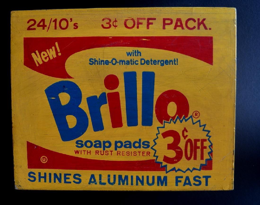 Andy Warhol , Brillo Box