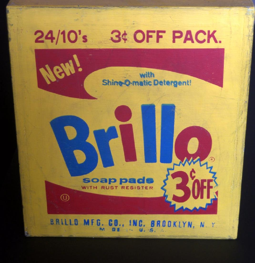 Andy Warhol , Brillo Box - 3