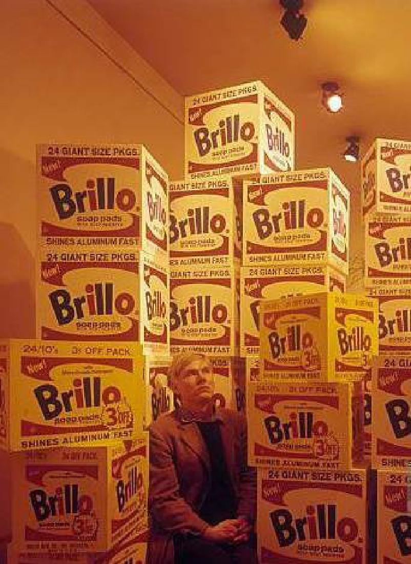 Andy Warhol , Brillo Box - 7