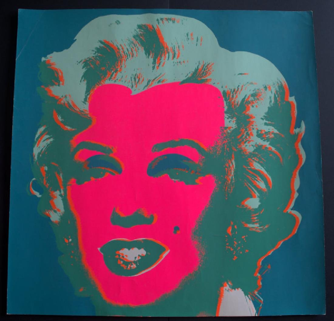 Andy Warhol, Marilyn 1967, signed by hand, edition of