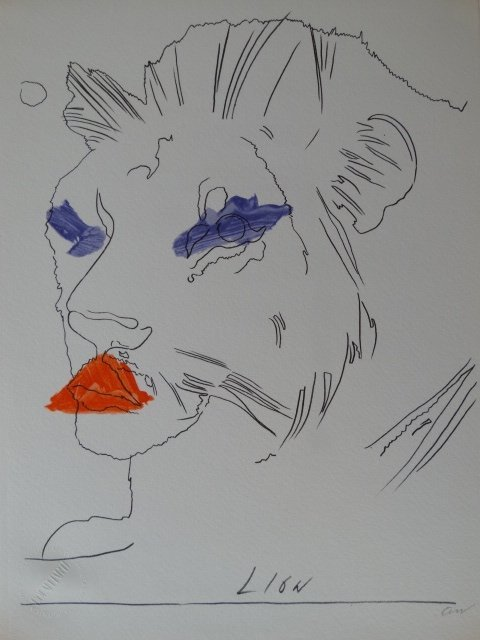 Andy Warhol, hand signed, Guarantee of authenticity