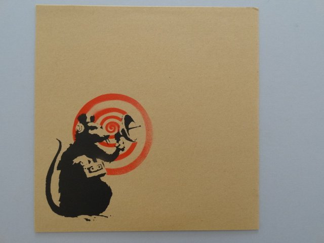 Banksy, Radar Rat, Screenprint on Record Jacket - 2