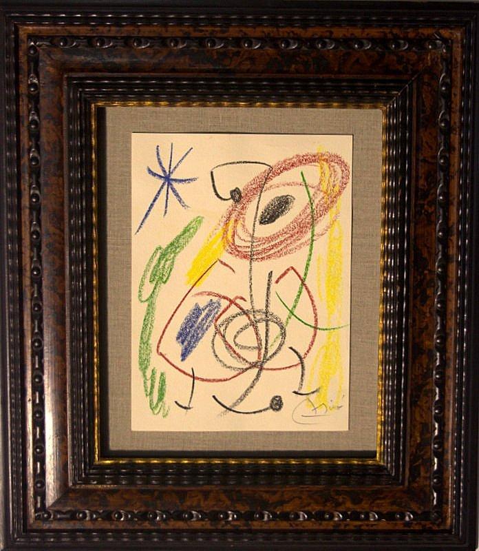 Joan Miro drawing