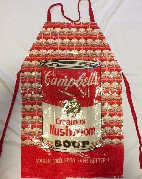 ANDY WARHOL ORIGINAL CAMPBELLS SOUP CREAM OF MUSHROOM