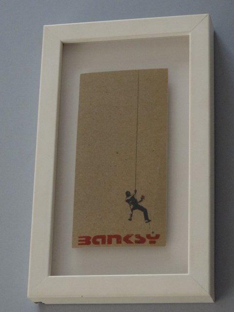Banksy 2002 Existencilism Flyer Sponsored By Puma