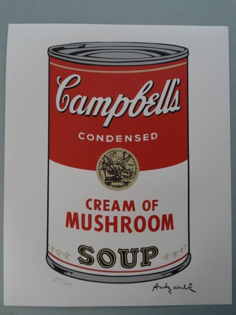 ANDY WARHOL, Campbells