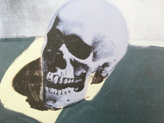 ANDY WARHOL SKULL SIGNED + HAND NUMBERED - 2