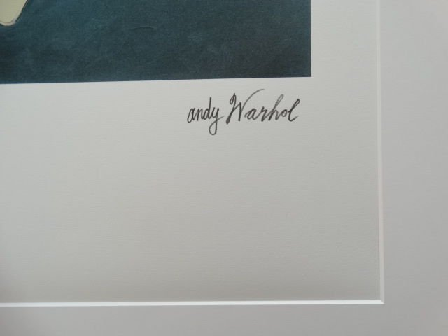 ANDY WARHOL SKULL SIGNED + HAND NUMBERED - 4