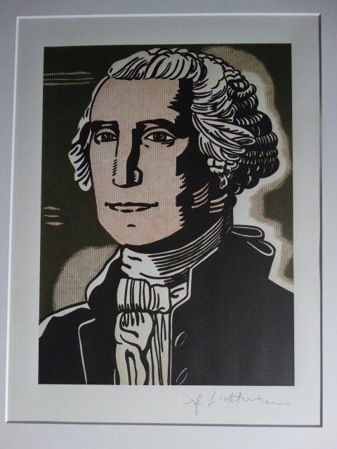Roy Lichtenstein. George Washington