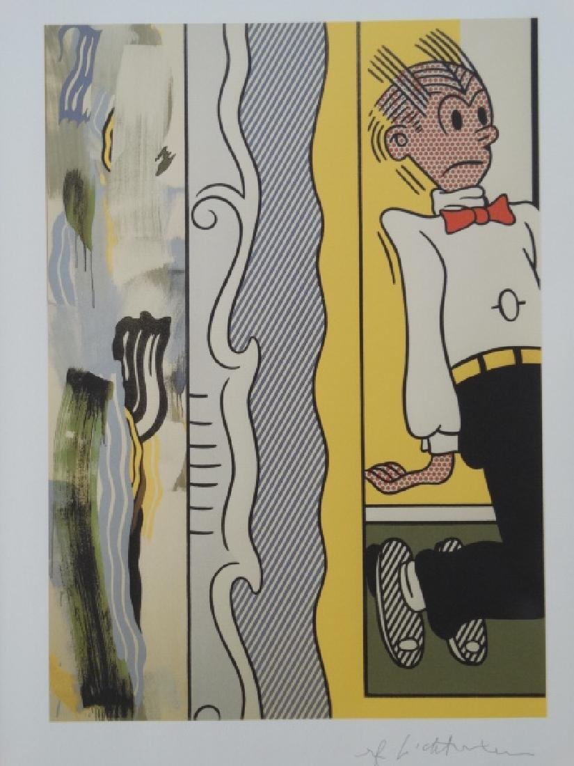 ROY LICHTENSTEIN, SIGNED IN PRINT