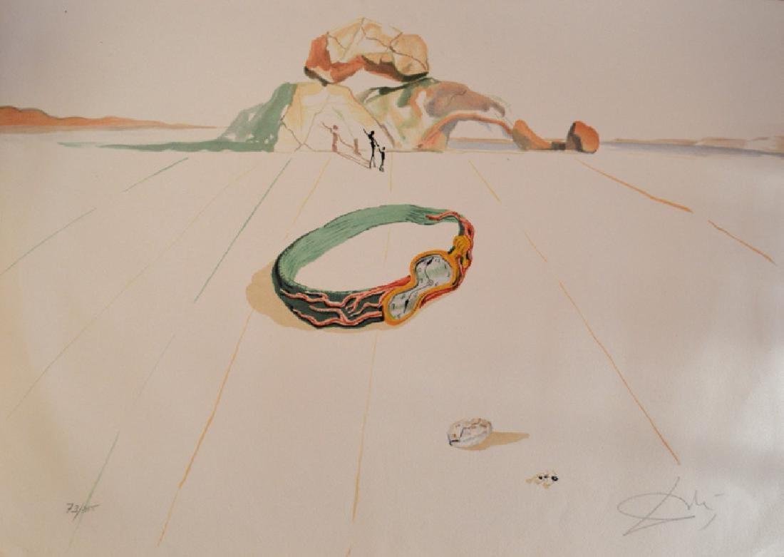 Salvador Dali­, Lithograph signed and numbered by hand