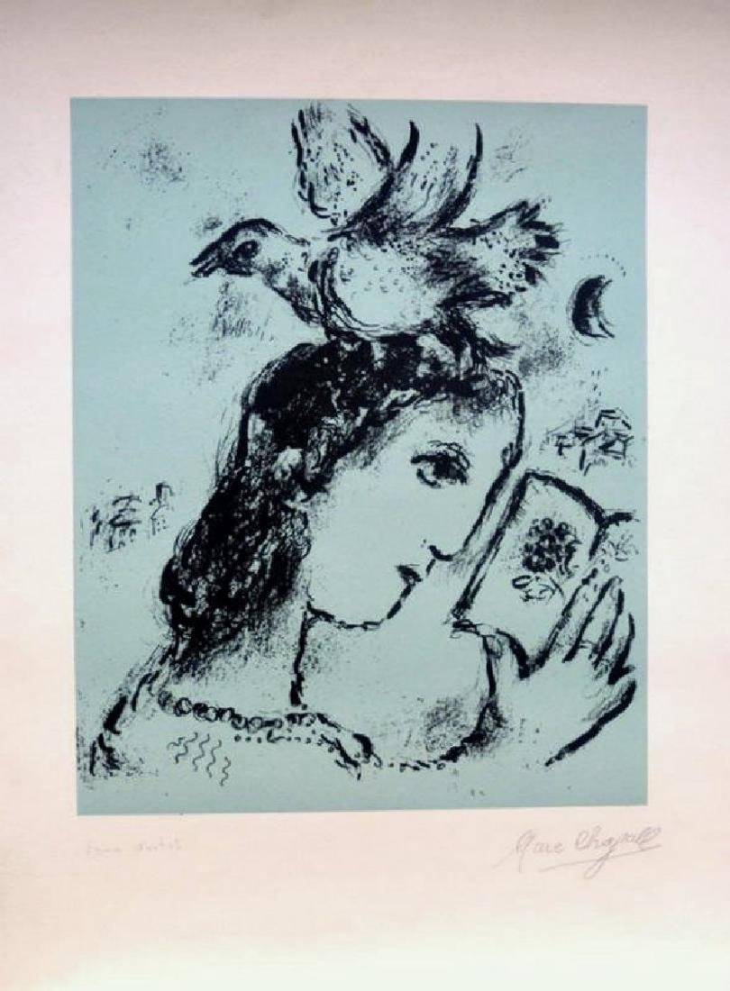 Marc Chagall , ELSA TRIOLET, HAND SIGNED