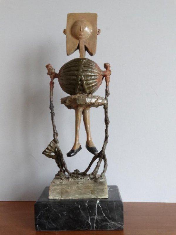 Pablo Picasso, bronze sculpture
