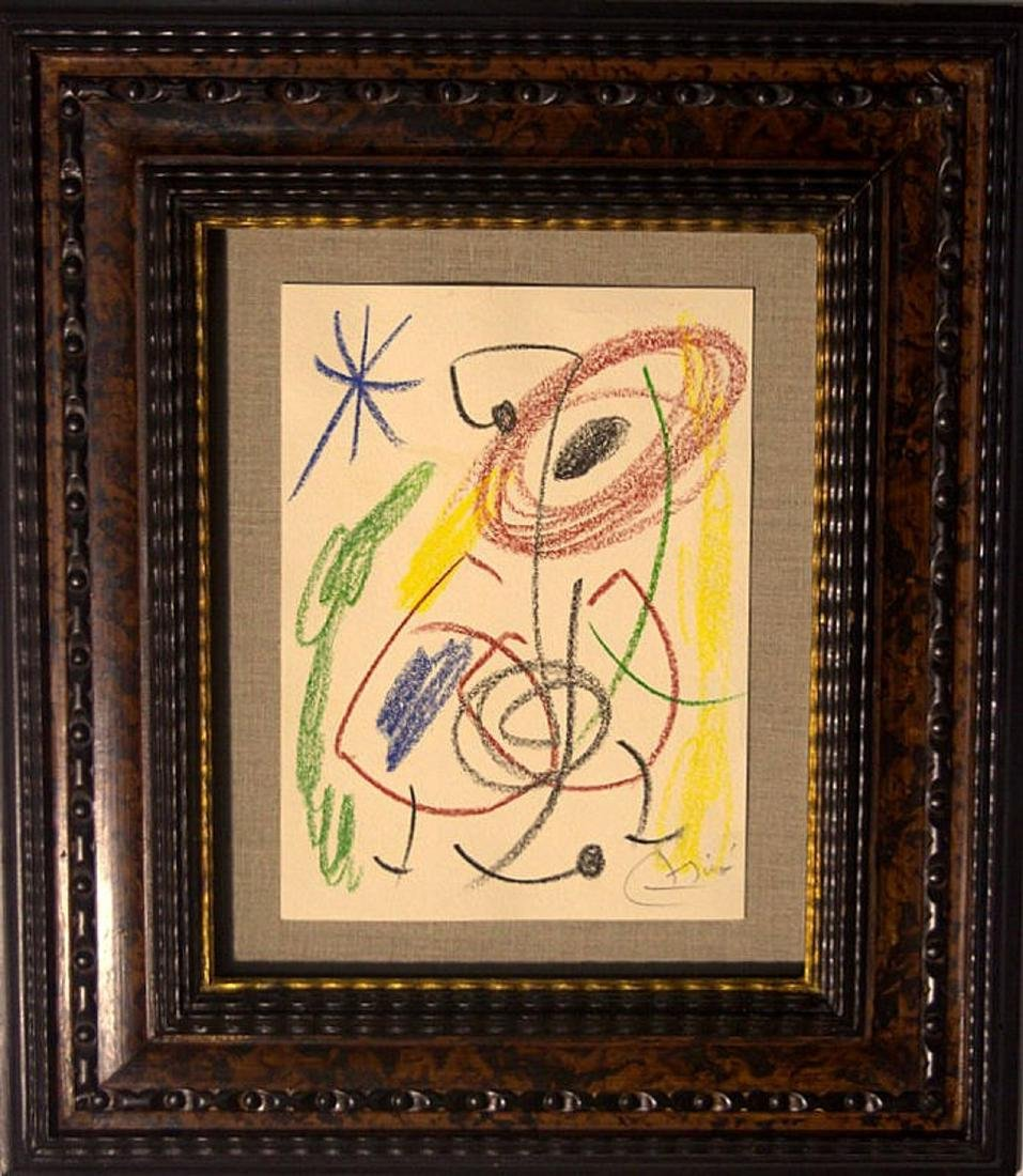 Joan Miro drawing