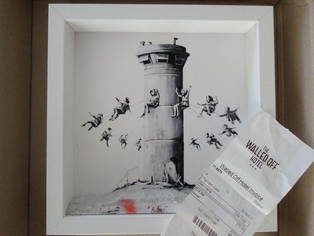 Banksy - Walled Off Hotel