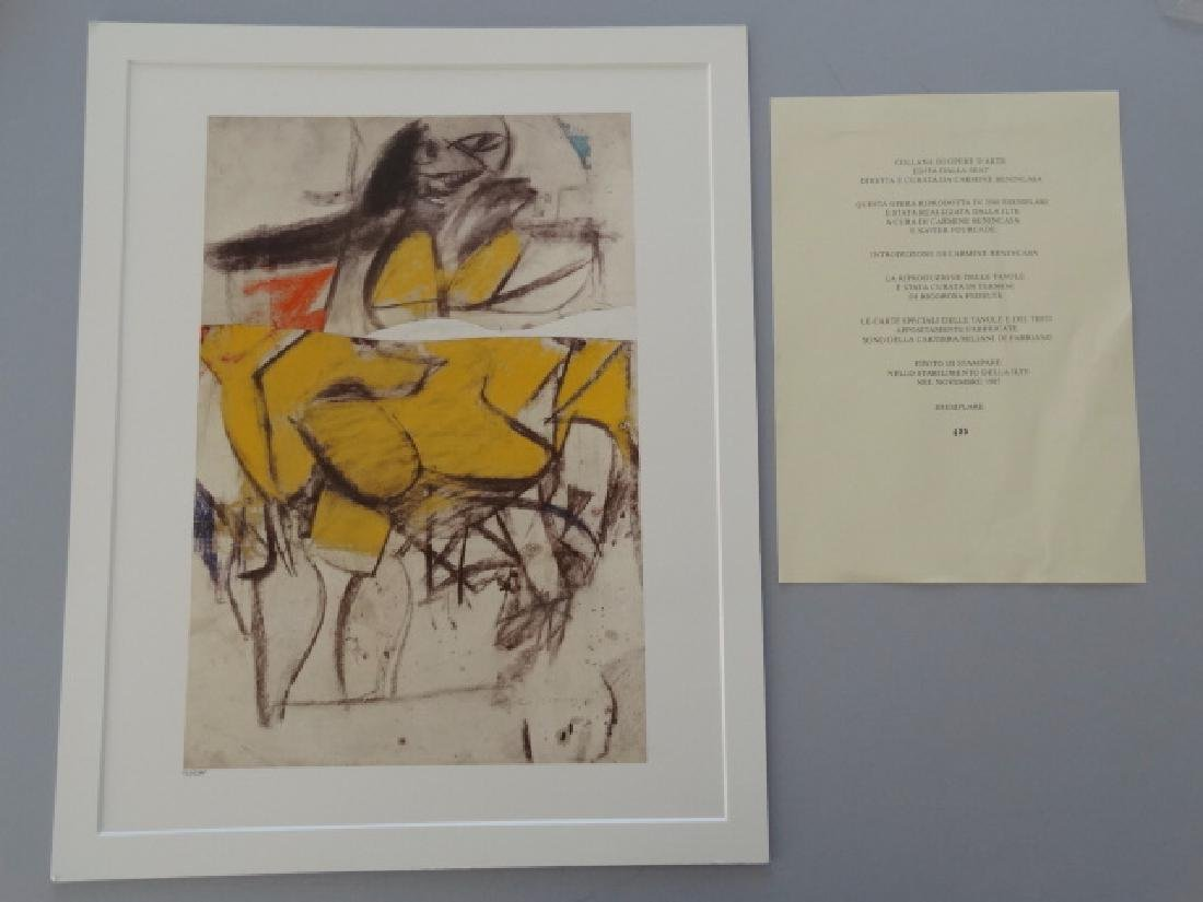 Willem de Kooning - Untitled, 1985+Justification