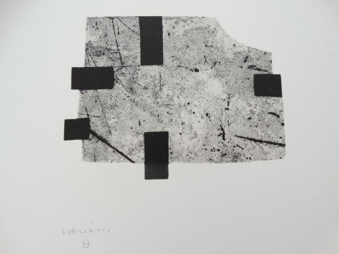 Eduardo Chillida, lihograph, 1996