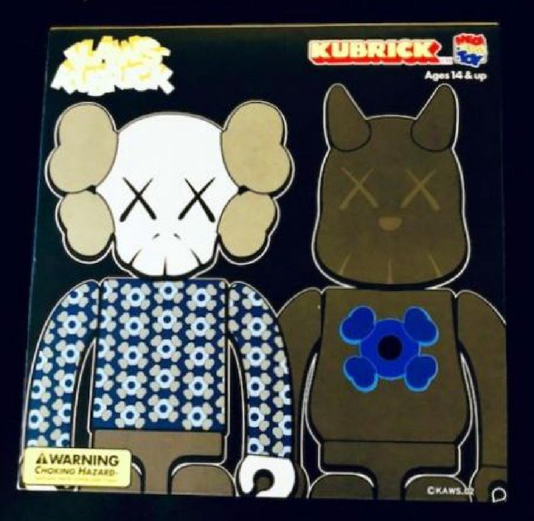 Medicom Toy Kaws Kubrick Bus Stop Figure Set 2!