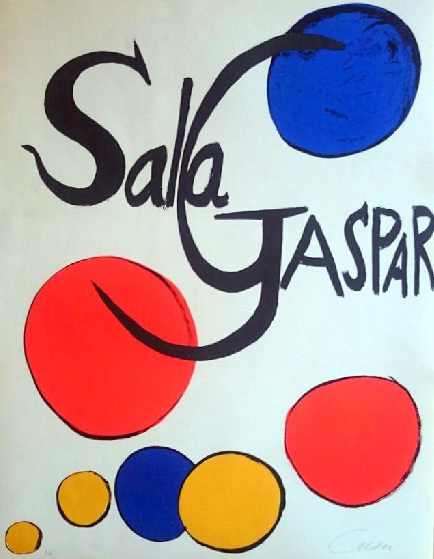 Alexander Calder, hand signed , CERTIFIED